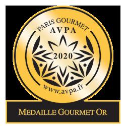 medaille or Gourmet 2020 AVPA