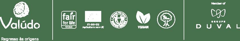 logo labels Valudo footer